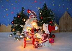 FESTIVE CHRISTMAS LIGHTS || KERSTBOOMVERLICHTING (Anne-Miek Bibbe) Tags: festivelights crazytuesday happyteddybeartuesday canoneos70d annemiekbibbe bibbe nederland 2019 tabletopphotography kerstboom christmas christmastree christmastreelighting kerstverlichting lighting speelgoed toy spielzeug giocattoli juguetes bringuedos jouets bear teddybear beertje teddybeer beer speelgoedbeer nounours minibeer minibear