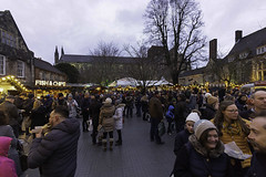 Crowds at Winchester Christmas Market (TerryCym) Tags: winchester hampshire christmasmarket 2019 food crowd cathedral fun street december england uk