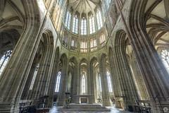 Mont-Saint-Michel Abbey [FR] (ta92310) Tags: travel unesco france normandy normandie manche 50 mont saintmichel architecture church eglise abbey abbaye