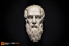 Hermes (Victor van Dijk (Thanks for 7M views!)) Tags: hermes greek mythology portrait statue face macro miniature 100l elinchrom quadra elb400