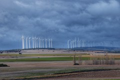 Molinos de viento (carmengonzalez23mayo) Tags: zamora spain landscape castillayleon europe country field nature sky wind windmill