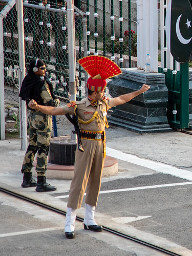 610A5244 Wagah border ceremony