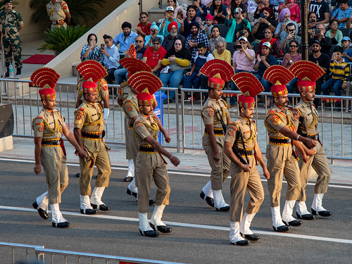 610A5228 Wagah border ceremony
