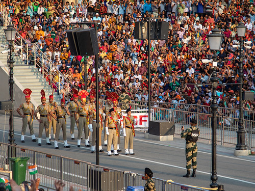 610A5221 Wagah border ceremony