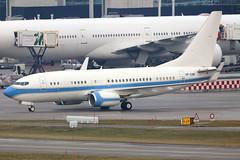 VP-CAM_01 (GH@BHD) Tags: vpcam boeing 737 737700 b737 bbj boeing7377kkbbj dragonvillaltd zurichairport zrh lszh zurich kloten wef wef2019 bizjet corporate executive aircraft aviation airliner