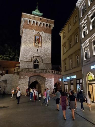 St. Florian's Gate,  Stare Miasto, Kraków, Poland