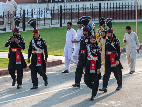610A5188 Wagah border ceremony