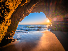 Malibu Sea Cave El Matador State Beach Fine Art Landscape Nature Fuji GFX100 Sunset Photography! Dr. Elliot McGucken dx4/dt=ic Master Fine Art Medium Format Photographer!  Fujifilm Fujinon GF 23mm f/4 R Lm Wr Wide Angle Lens! (45SURF Hero's Odyssey Mythology Landscapes & Godde) Tags: malibu sea cave el matador state beach fine art landscape nature fuji gfx100 sunset photography dr elliot mcgucken dx4dtic master medium format photographer fujifilm fujinon gf 23mm f4 r lm wr wide angle lens