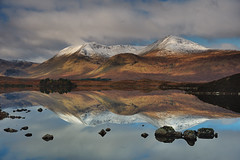 Mirrored reflection (images@twiston) Tags: lochannahachlaise rannochmoor mountains glencoe snow ice moody light loch lochan autumn moor moorland remote highlands scottishhighlands scotland mountain landscape patchwork dappled imagestwiston water blackmount a82 glaschoire nisi nisifilters gnd neutraldensity grad