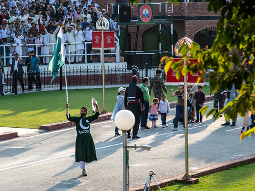 610A5184 Wagah border ceremony