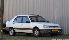 Peugeot 309 SX 1.4 1993 (XBXG) Tags: gffz75 peugeot 309 sx 14 1993 peugeot309 coach blanc white küppersweg waarderpolder haarlem nederland holland netherlands paysbas youngtimer old french car auto automobile voiture ancienne française france frankrijk vehicle outdoor