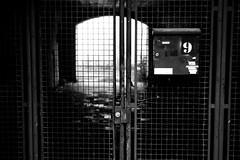 No.9 Dream (Leica M6) (stefankamert) Tags: no9 street gate film analog analogue tones noir noiretblanc blackandwhite blackwhite stefankamert leica m6 leicam6 summitar kodak trix freising lines 122019