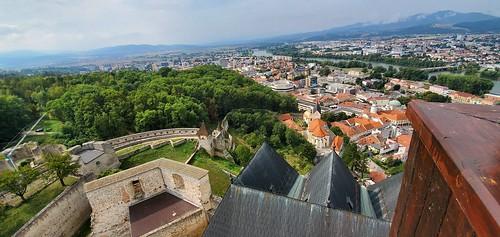 Trencin castle, Trenčiansky hrad, Slovakia