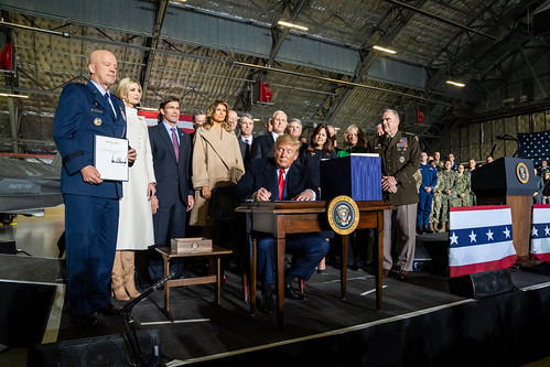 President Trump Signs the 2020 NDAA by The White House, on Flickr