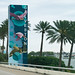 Galveston Causeway - Welcome Sign