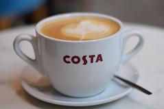 Coffee time.... (Jason Khoo Photography) Tags: closeup bokeh culture manualfocus beverage latte coffee costa justphotos unlimitedphotos 50mm standardlens nikkor flickr amateurphotography nikon