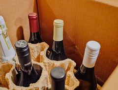 Nine-Bottle Wine Shipper - Wine Bottle Ship Container (Tony Webster) Tags: bottle bottles howtoshipwine shippingcontainer shippingwine shippingwinebottles wine winebottle winebottleshipping winebottles wineshipper wineshipping