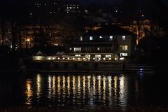 DSC_4791_5771 - Torino - Riflessi sul fiume Po - Turin - Reflections on the Po river. (angelo appoloni) Tags: piemonte torino fiume po notturno colori luci riflessi sul circolo canottieri esperia piedmont turin poriver night view colors lights reflections rowing club lacittàmetropolitanaditorinovistadavoi