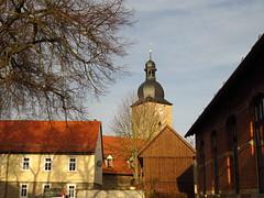 village edges (germancute ***) Tags: village dorf kirche church thuringia thüringen g germany germancute deutschland