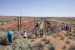 Saying Goodbyes (Colin Dell) Tags: bmlp page navajo coal train railway black mesa lake powel ea022 e60