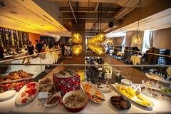 Glowbal Restaurant (GoToVan) Tags: restaurant glowbal telusgarden buffet allyoucaneat christmas
