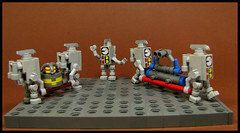 Minion Update (Karf Oohlu) Tags: lego moc minion figure bot droid scifi activity