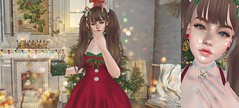 【gift wrapping】 (Sooyun Ichtama) Tags: secondlife slblogger christmas xmas arise mused blah bloom boop buing enfersombre lg thesummoning dubai thearcade theepiphany gacha groupgift