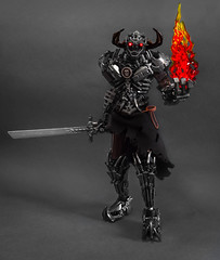 Deathlord Iskandir (▷Cezium◁) Tags: lego bionicle moc afol fantasy dark fire character armor evil sword toy figure