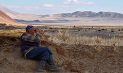 Watching Over The Flock (bobglennan) Tags: philadelphiaphotographer findingtheshot beyondtheview timing mongolianlife mongolia life lifestyle pastoral landscape landscapebackground herdinglife kazakhlife measuringlife