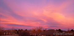December 22, 2019 - A fantastic sunrise. (David Canfield)