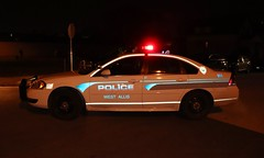 West Allis Police Department (raserf) Tags: west allis wisconsin milwaukee county police dept department christmas parade 2019 chevrolet impala cop leo emergency vehicle car 37