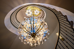 Spiral Staircase at the W Hotel Washington DC (jtgfoto) Tags: whoteldc spiralstaircase washington washingtondc architecture architecturephotography architecturalphotography chandeliers sony sonyimages sonyalpha sonya7riii staircase spiral design stairs rokinon wideanglephotography rokinon14mm