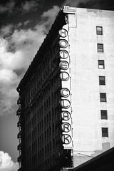 Hotels Like Clark (Thomas Hawk) Tags: america california dtla downtownlosangeles hotel hotelclark losangeles southerncalifornia usa unitedstates unitedstatesofamerica architecture bw neon neonsign socal fav10 fav25 fav50