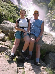 lacbleu15 (Gina Stafford) Tags: france 2005 hiking pyrenees lacbleu gina bill