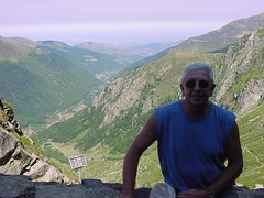 lacbleu12 (Gina Stafford) Tags: france 2005 hiking pyrenees lacbleu bill