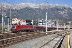 ÖBB 1116 240 Innsbruck Hbf (daveymills37886) Tags: öbb 1116 240 innsbruck hbf baureihe railjet siemens es64u2 taurus