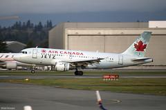 Air Canada Airbus A319 C-GBHN (Brian Rempel) Tags: historicair vancouverinternationalairport yvr cyvr aircanada airbus a318 cgbhn ac7039 yeg edmonton alberta