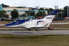 N420FG Honda HA-420 42000085 KFXE (CanAmJetz) Tags: n420fg honda ha420 kfxe fxe bizjet aircraft airplane 42000085 nikon