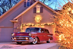 Nomad Christmas_12-22-19_03_DSC_0864_PS2_WM (Nomad Joe) Tags: 1957nomad chevy chevrolet christmaslights christmas winter winterevening mazomanie wi usa