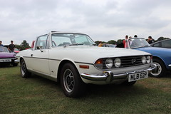 Triumph Stag MLB62P (Andrew 2.8i) Tags: haynes museum sparkford classic car cars classics breakfast meet show leyland british bl sports sportscar v8 open cabriolet convertible roadster auto stag triumph mlb62p