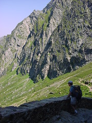 lacbleu13 (Gina Stafford) Tags: france 2005 hiking pyrenees lacbleu bernard