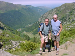 lacbleu16 (Gina Stafford) Tags: france 2005 hiking pyrenees lacbleu bill bernard