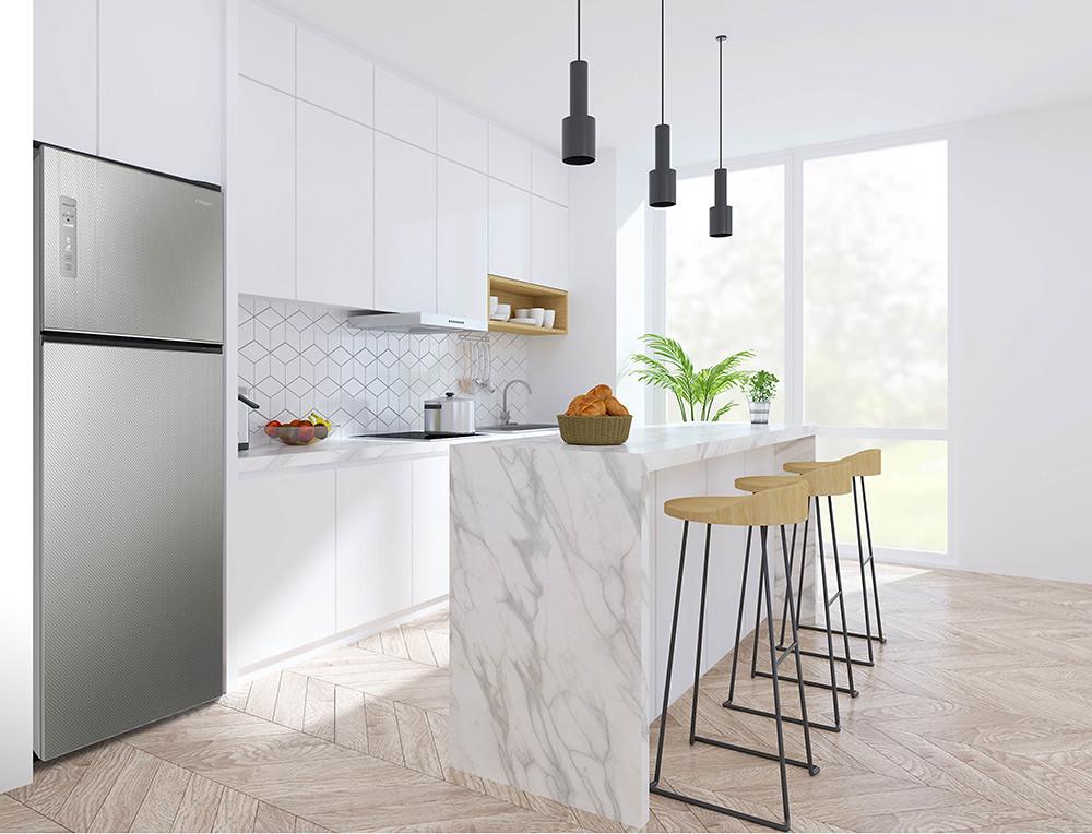 圖二-奇美鮮靜美電冰箱為年菜食材保鮮-給新春溫暖加味(圖中商品型號:UR-P48GB1)