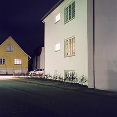 Neighborhood (Christopher Magni Kjerholt) Tags: rolleflex 75mm35 kodakektar100 kodak ektar 100 herning denmark medium format 6x6
