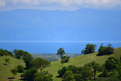 Blue Lake Albert in the Rift Valley (supersky77) Tags: uganda africa lakealbert rift valley
