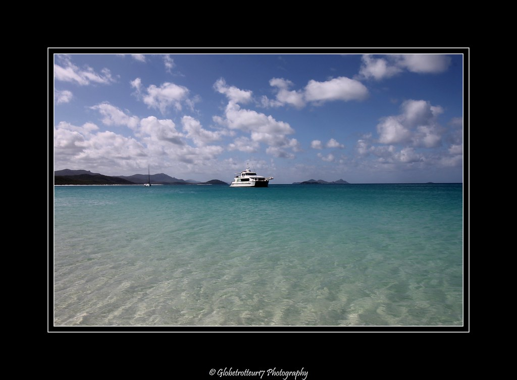 Whitehaven Beach- Whitsunday Island- Queensland- Australia- Australie