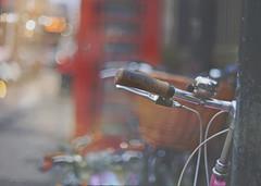 On the 23rd Day of Christmas... (KissThePixel) Tags: vintage cambridge cambridgeshire bikeride bike bicycle macro macromonday flickr flickrmonday christmas christmaslights christmasbokeh bikebokeh bicyclebokeh streetbokeh streetphotography redtelephonebox telephonebox redbox phonebox nikon nikondf 50mm nikkor nikkor50mmf12 december depthoffield dof dreamy pastel soft bokeh bokehlicious