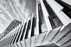 EDP - Energias de Portugal (khrawlings) Tags: edp energiasdeportugal lisbon architecture portugal bw blackandwhite monochrome lines building office business cloud urban corporate