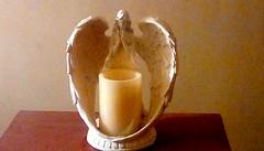 Angel candle! Menominee Michigan