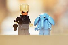 LEGO Bith Musician and Max Rebo (weeLEGOman) Tags: lego bith musician max rebo star wars return jedi minifigure minifigures figbarf toy macro photography outdoors outside uk nikon d7100 105mm robert rob trevissmith weelegoman